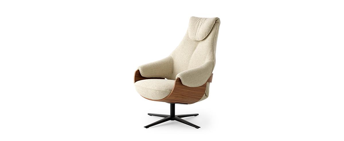 Leolux design fauteuils cream 01