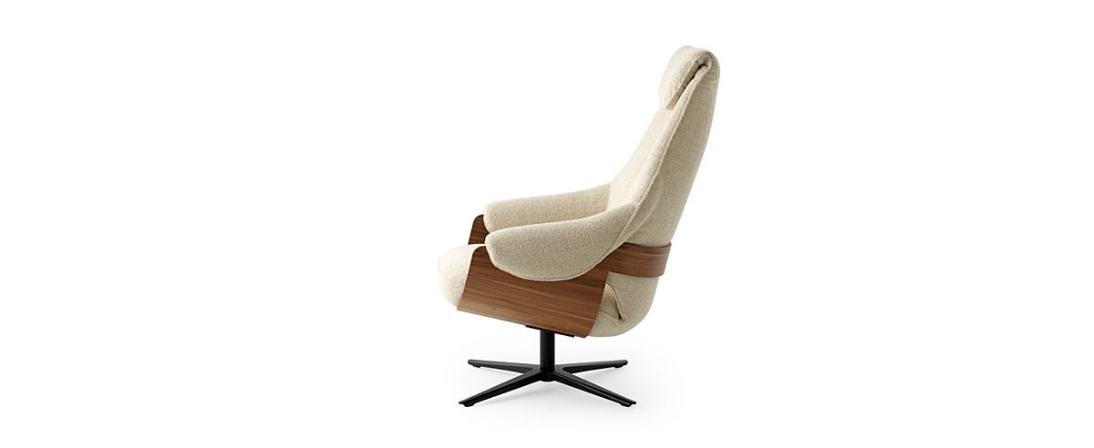 Leolux design fauteuils cream 02