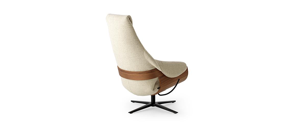 Leolux design fauteuils cream 03