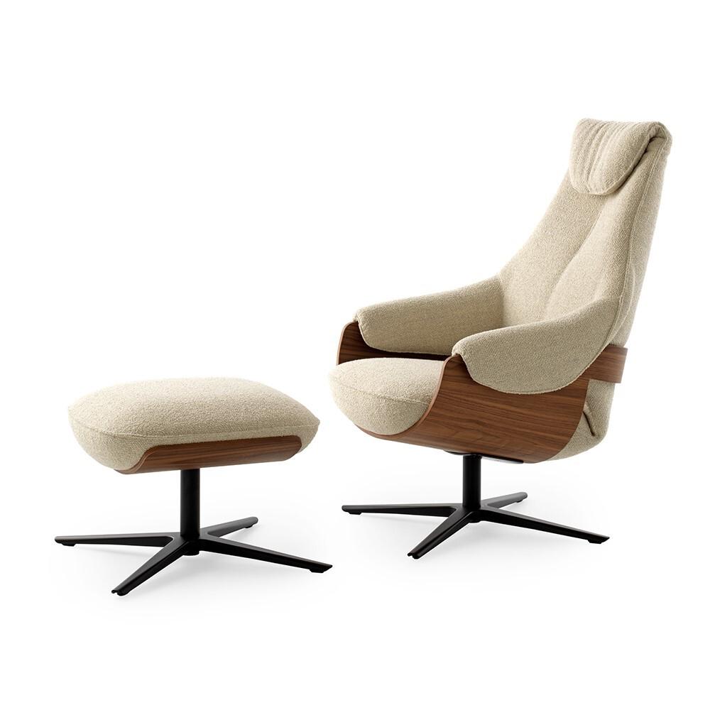 Leolux Cream fauteuil