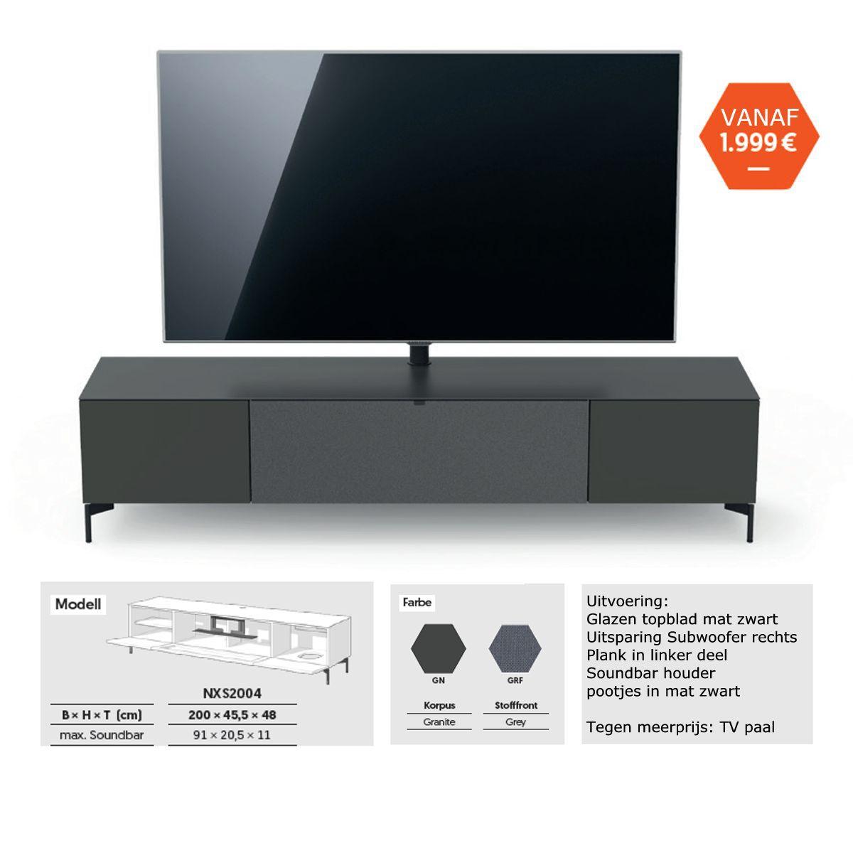 Spectral actie tv meubel 2