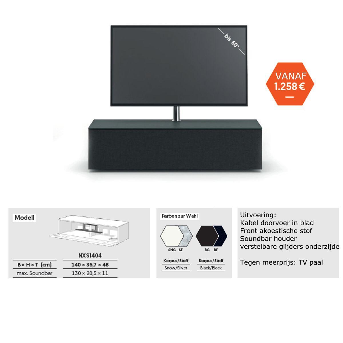 Spectral actie tv-meubel 1