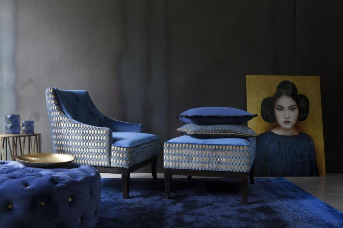 Carpetsign vloerkleed karpet metropolis design blue slider koninck ambient