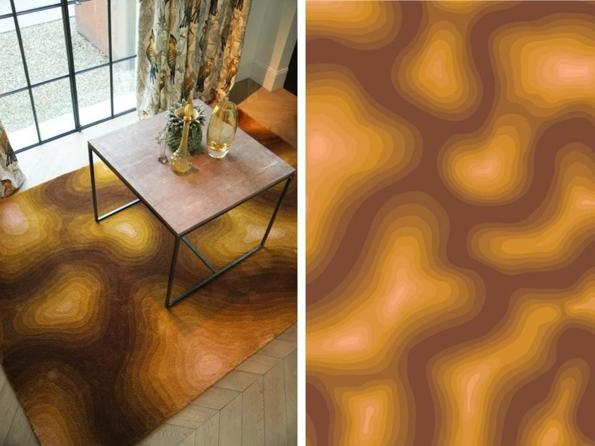 Carpetsign vloerkleed karpet ambient image ochre
