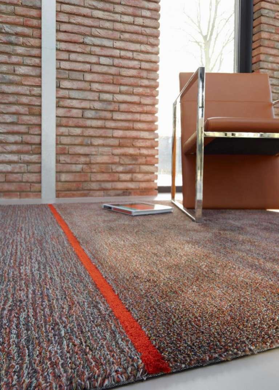 Carpetsign vloerkleed karpet connect brique h