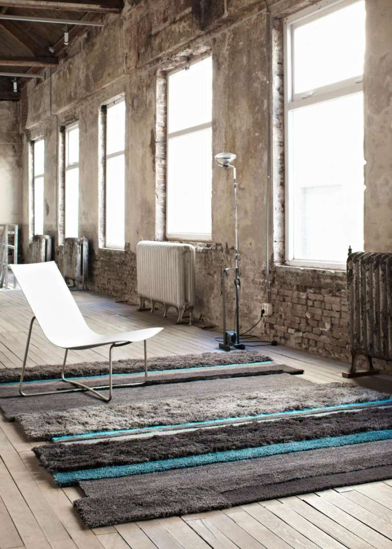 Carpetsign vloerkleed karpet salinas de maras black sapphire stripe vertical picture h