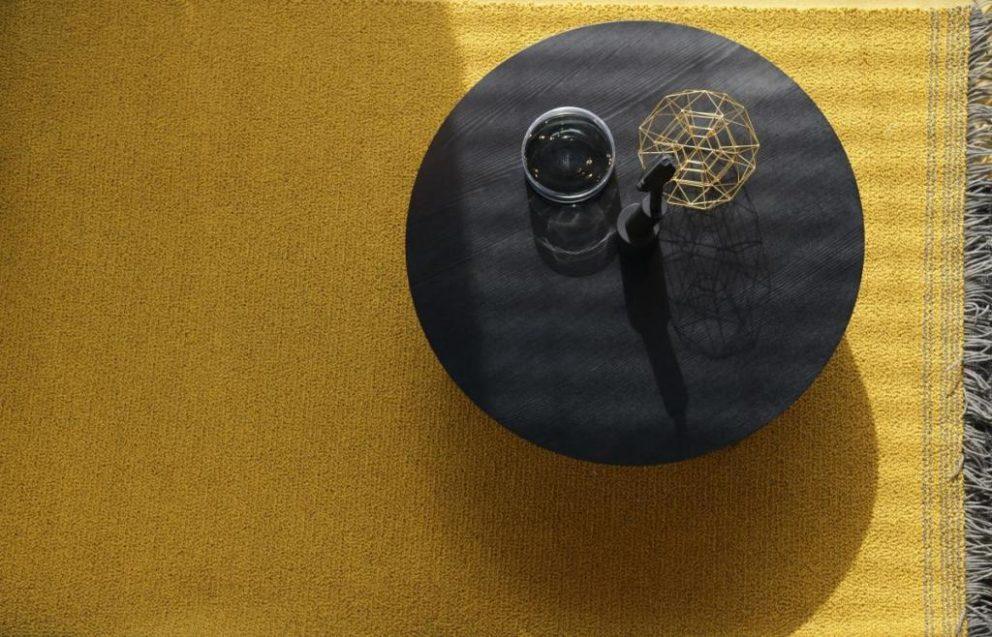 Carpetsign vloerkleed karpet chalet oker