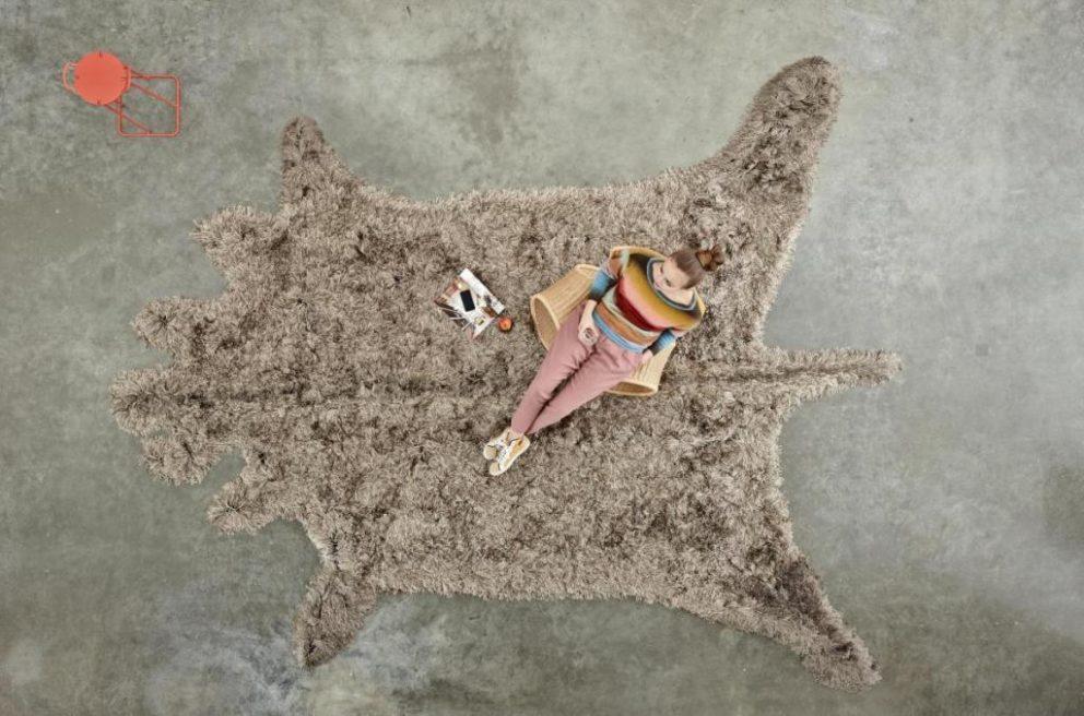 Carpetsign vloerkleed karpet roadkill bull tiff b