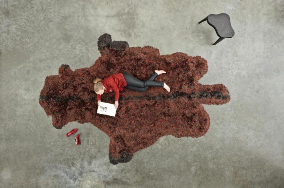 Carpetsign vloerkleed karpet roadkill bison tiff b