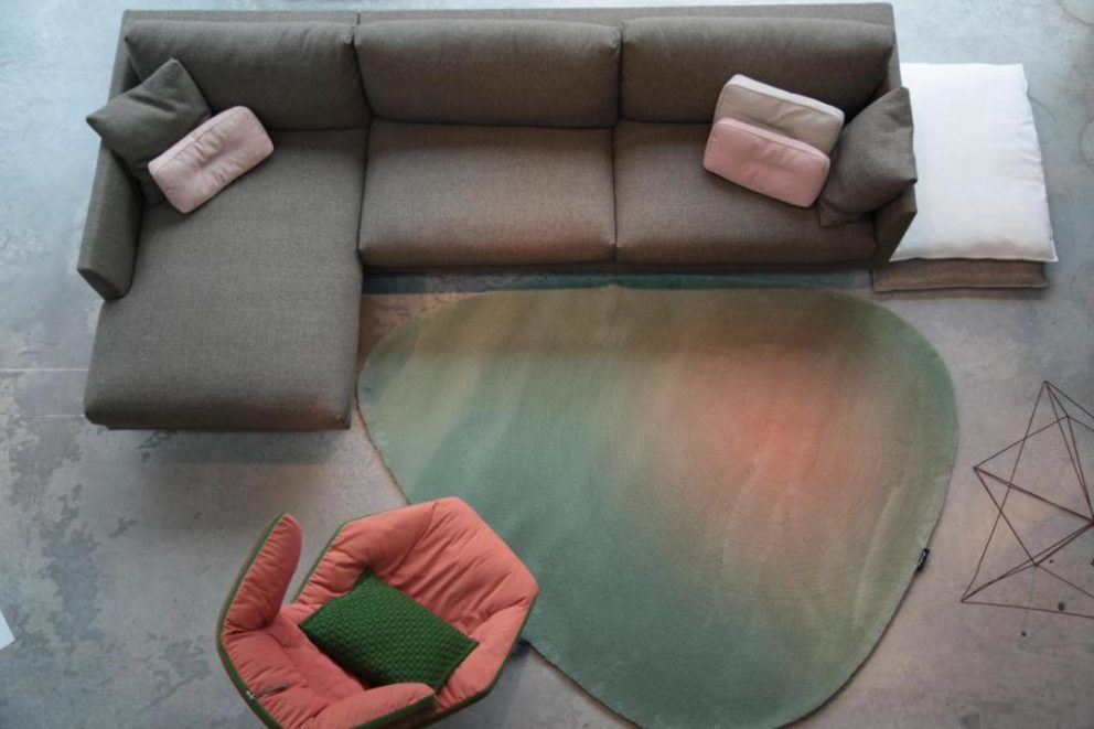 Carpetsign vloerkleed karpet cameleon pebble liggend b 0