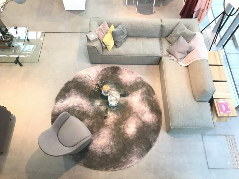 Carpetsign vloerkleed karpet ambient image contour lila