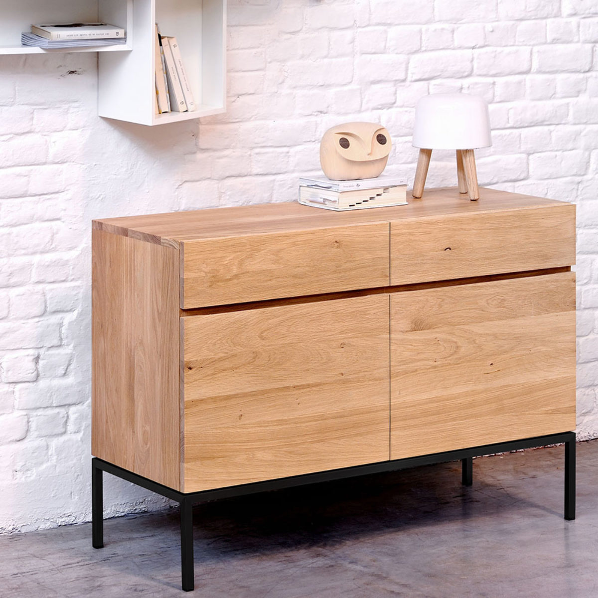 Ethnicraft Oak Ligna sideboard 01