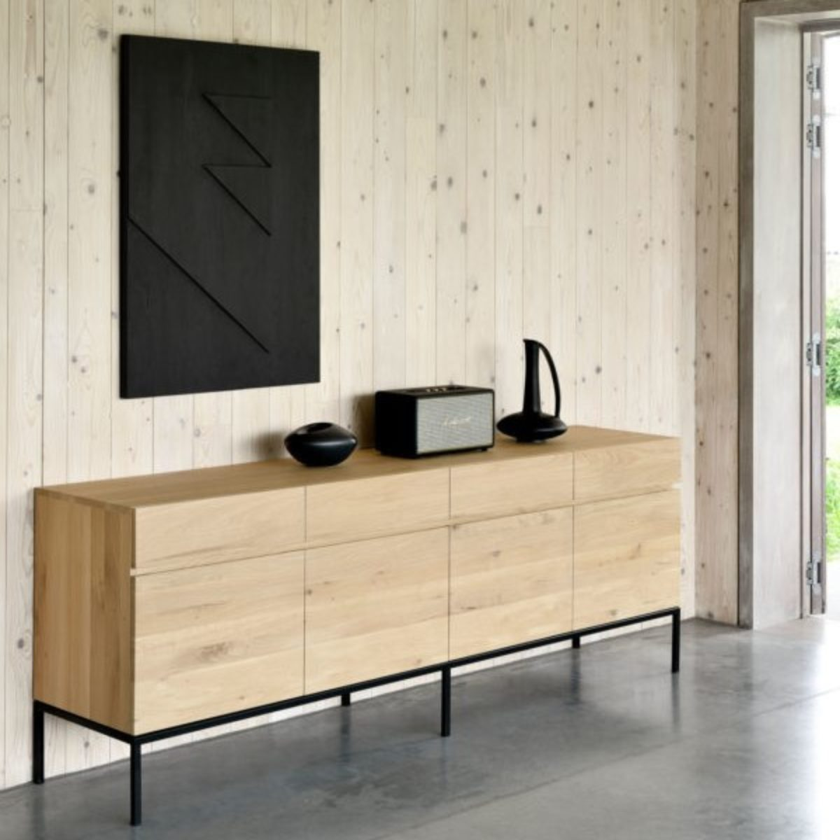 Ethnicraft Oak Ligna sideboard 04