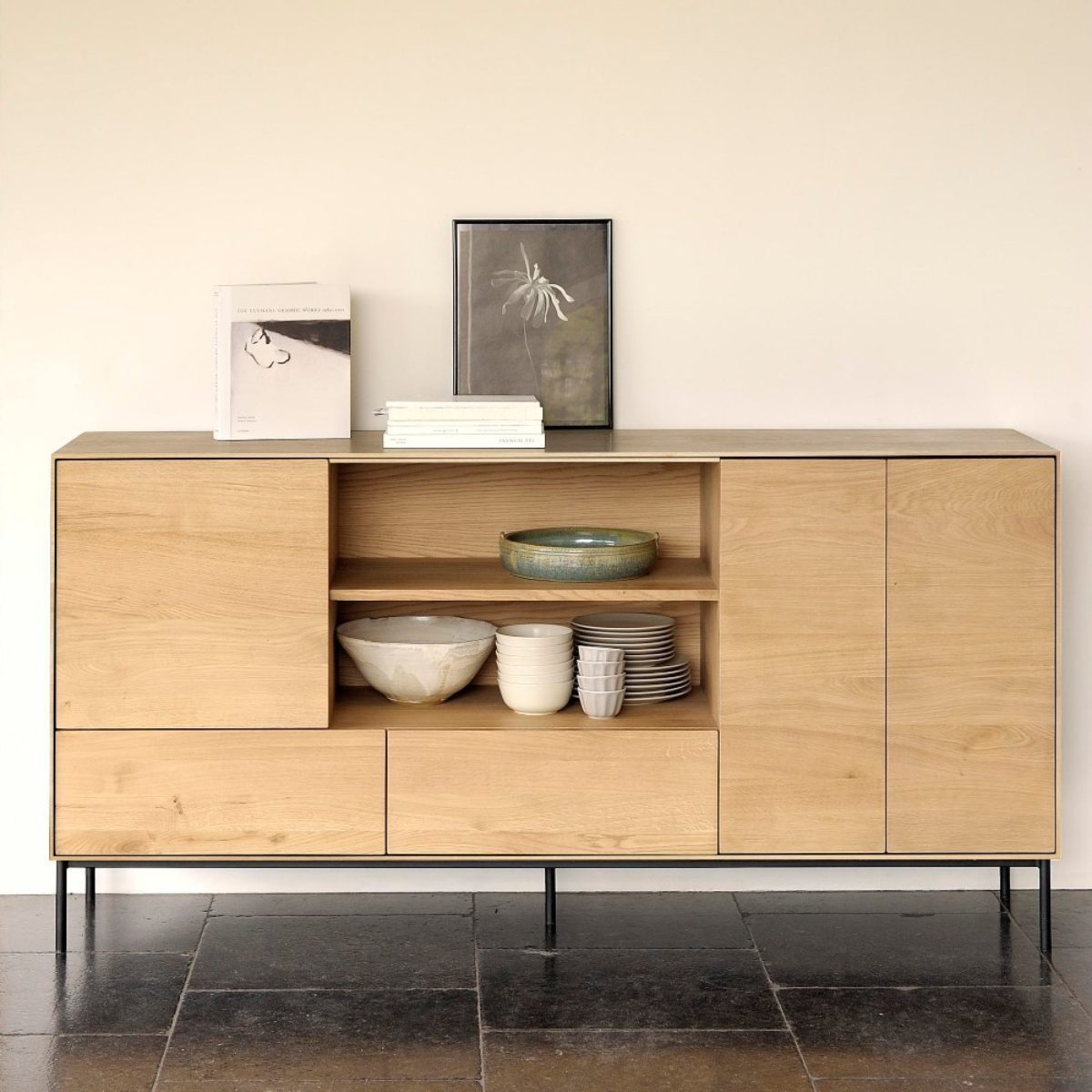 Ethnicraft Whitebird sideboard 06