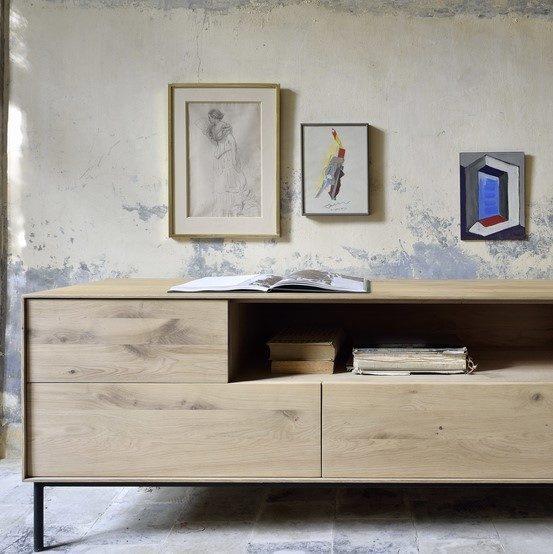 Ethnicraft Oak Whitebird TV cupboard 01vk