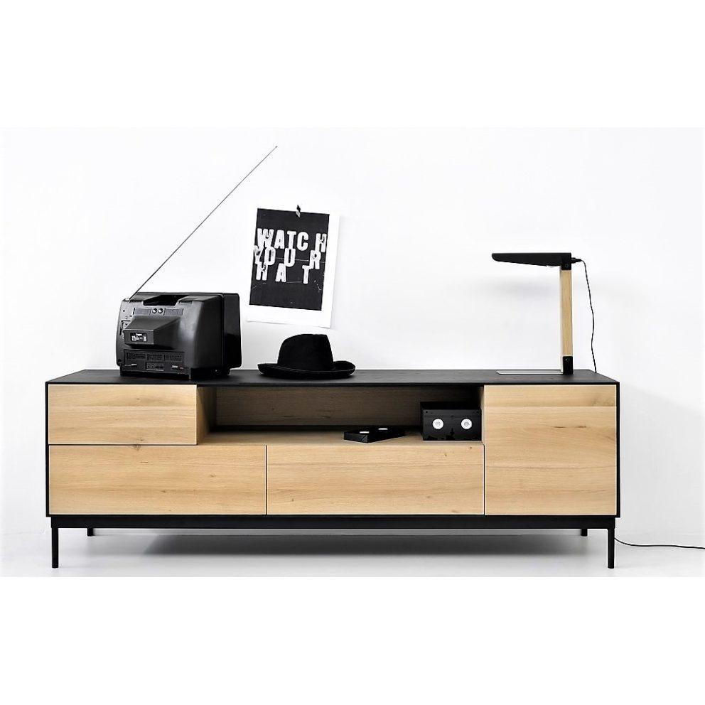 Ethnicraft Oak Blackbird TV cupboard 01 VK
