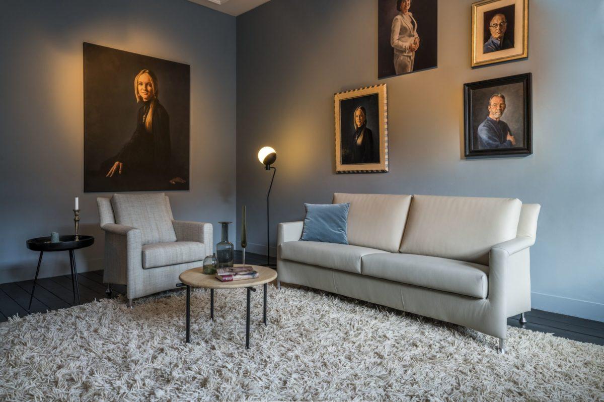 Évidence Paian Leolux sofa bankstel 2018 A 046
