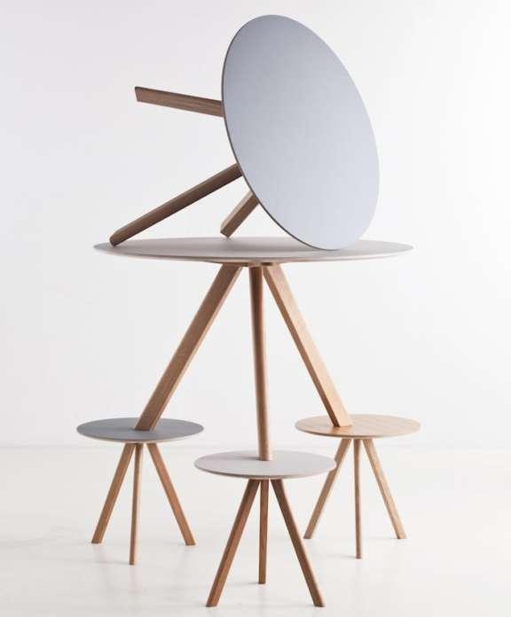 Hay collectie meubelen eettafel table 01