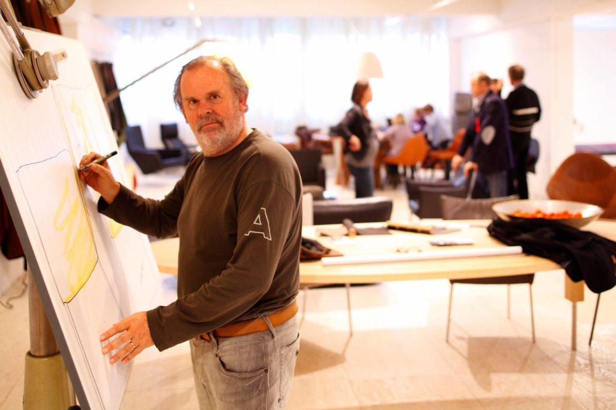 Label ontwerper Gerard van den Berg