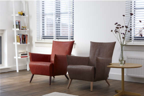 Cheo label fauteuil chair relax leer