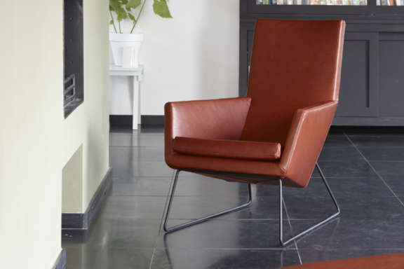 Don fauteuil lable chair relax 2 leer
