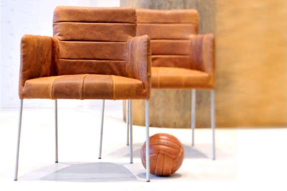Tiba patchwork label chair eetkamerstoel