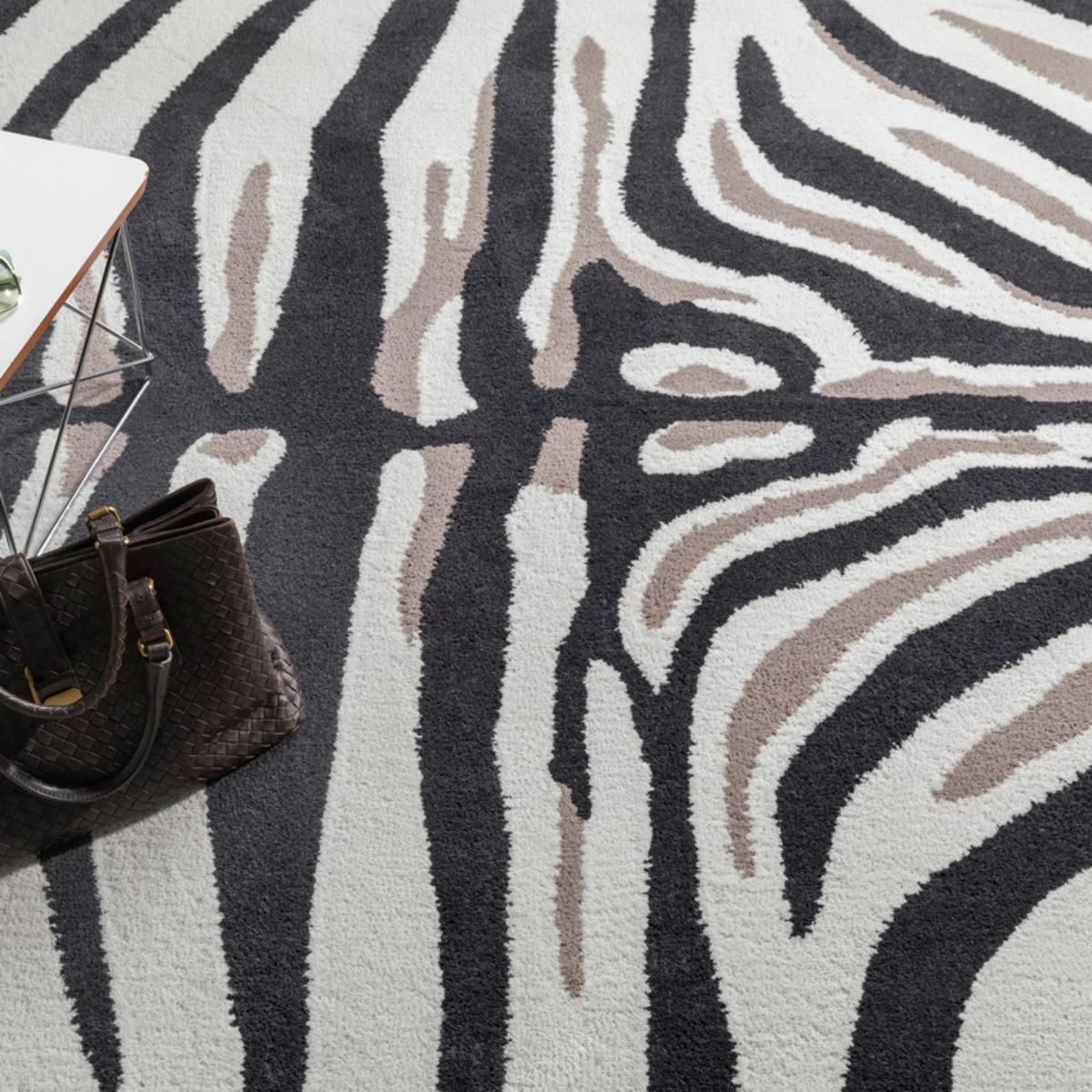 Millenerpoort karpet vloerkleed Zebra