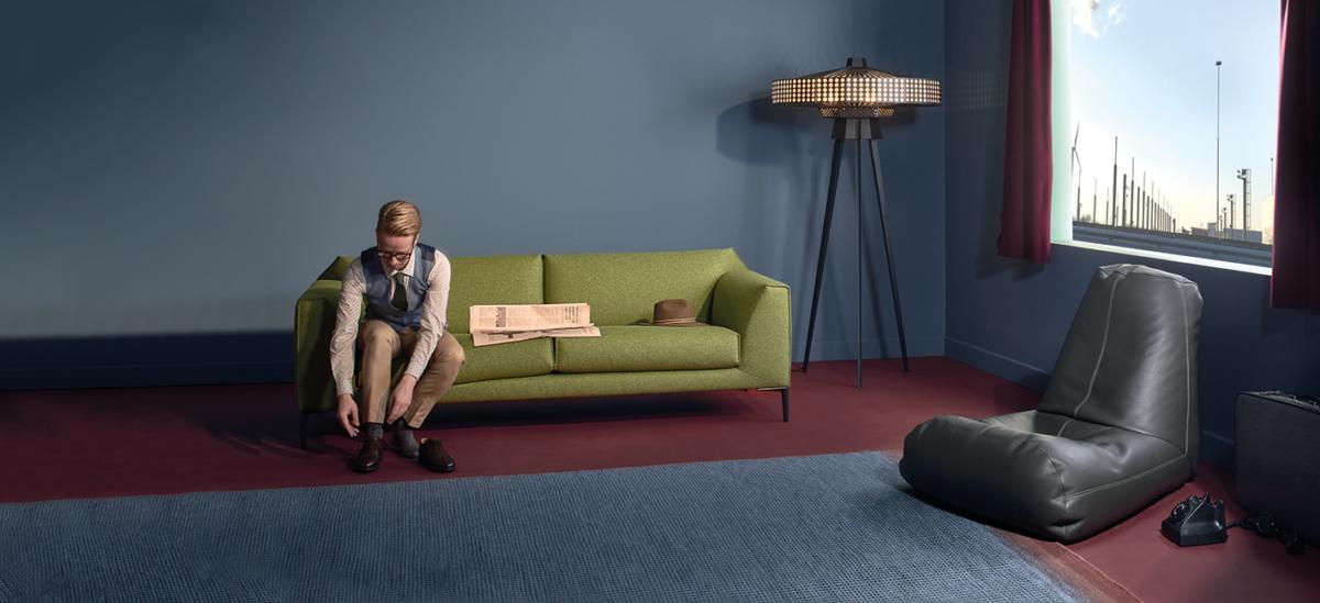 Pode sofa hoebanken relax fold 2 collectie