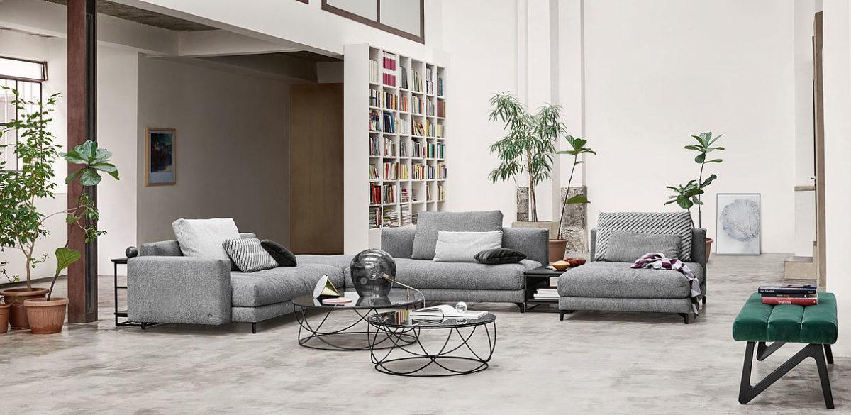 Rolf Benz sofa hoekbanken NUVOLA 01