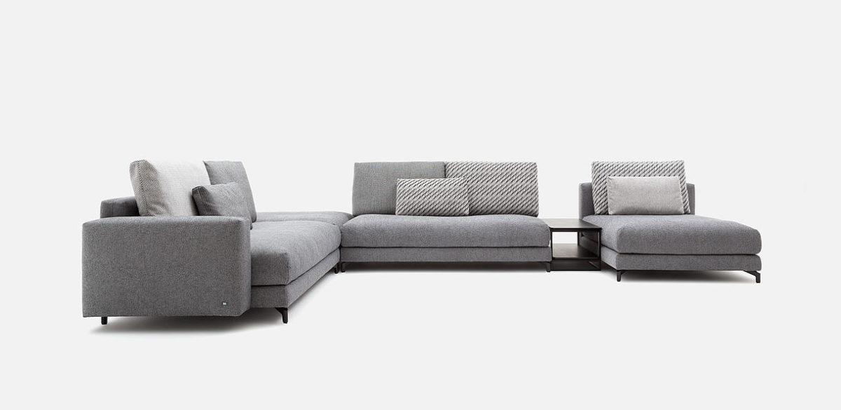 Rolf Benz sofa hoekbanken NUVOLA 03