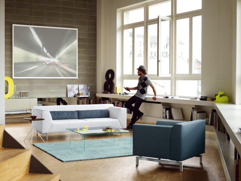 Rolf Benz sofa hoekbanken Linea 01
