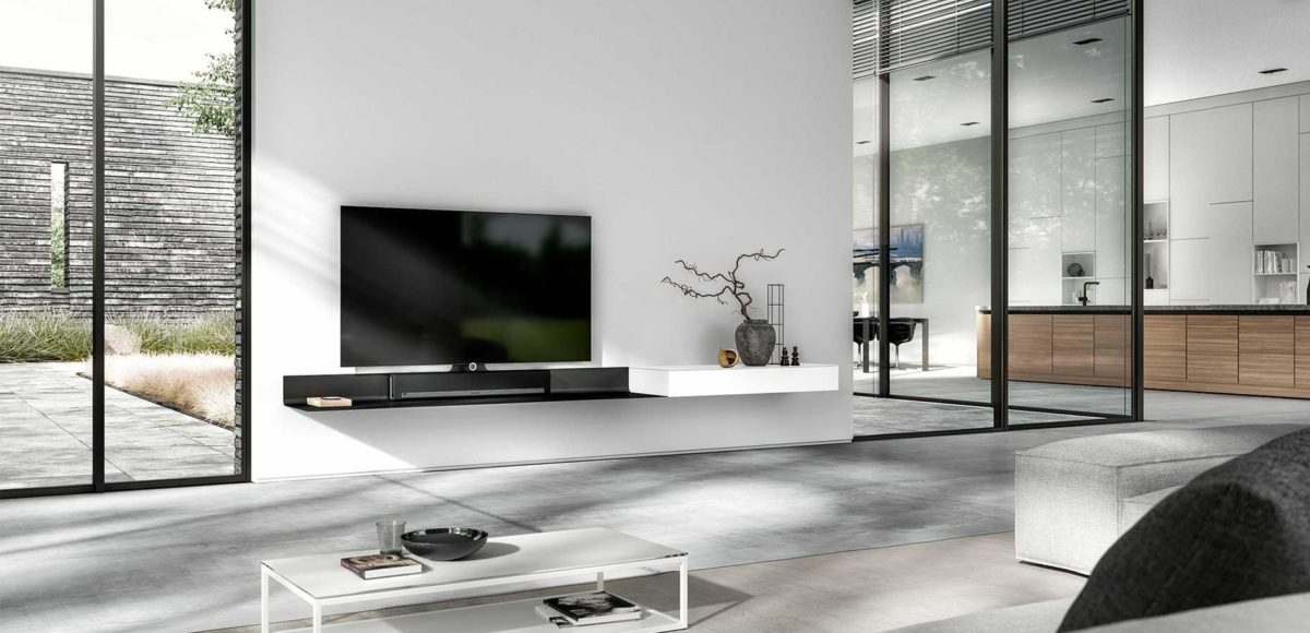 Design Tv Meubel Glas.Spectral Kokwooncenter