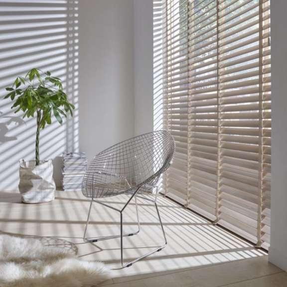 Sunway raamdecoratie houten horizontale jalouzie 1