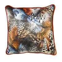 Scatterbox - Kussen Wilde Blue/Orange - 45x45 cm.