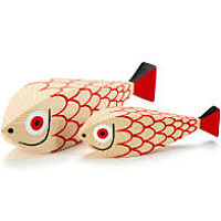Vitra Wooden Dolls Mother fish and child