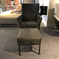 Charlyflex fauteuil en voetenbank