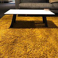 TRE Salontafel 90x45x30 cm blad Corian gl.wit. u.c.