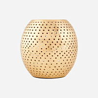 House Doctor - Tealight holder Net - Brass finish