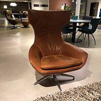 Caruzzo fauteuil leder Danza 268 mocha.