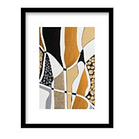 Urban Cotton - Labyrinth Black - incl. lijst - Maat M