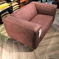 Cartel - Love-seat Replay leder Touch venice / poten zwart ( consignatie)