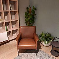 Limec fauteuil dark leder Dayton 71112 maroc.