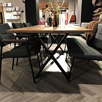 Bodilson - Xi dining table rustick oak