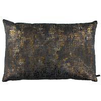 Claudi - Kussen Vera Copper / Dark Taupe - 30x45 cm.