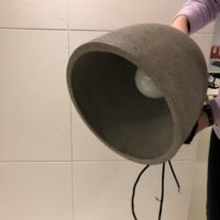It's About Romi - Hanglamp Malaga M hanglamp cement rond dia 28xh.24 cm.