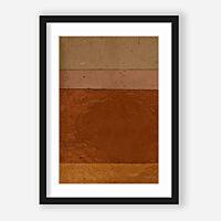 Urban Cotton - Geen bruin roze achtige - Incl. lijst kleur zwart - Maat L