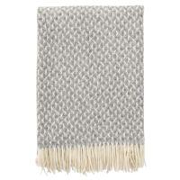 Klippan - Plaid Anna kleur Grey - 130x200 cm.