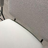 Bert Plantagie - 2x Barkruk Kiko Plus zit leder tendens LD1500- Rug stof Kvadrat Merit soft cloud