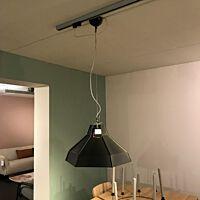 Bodilson - Rise hanglamp metal black inside silver