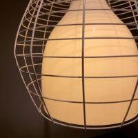 Cage Large hanglamp LI0271_10_E white/white.